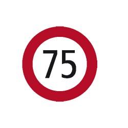 Kleber Geschwindigkeit 75 km/h