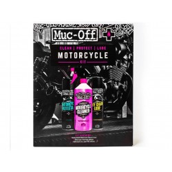 MUC-OFF  Pflegeset Motorcycle Clean Protect & Lube Kit