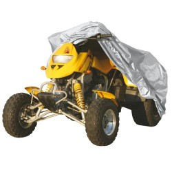 Abdeckplane grau  ATV Gr. XL